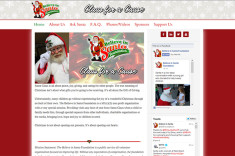 BelieveInSanta.com – Website design by Jason Davis