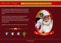 FloridaKrisKringle.com – WordPress website design by Jason Davis