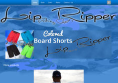 eCommerce WordPress website design by Jason Davis – LipRipperFishingGear.com